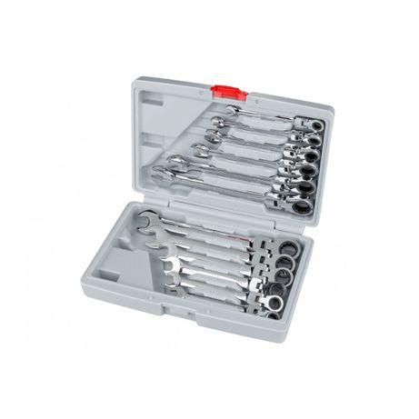 Set 12 chei combinate cu clichet KP60
