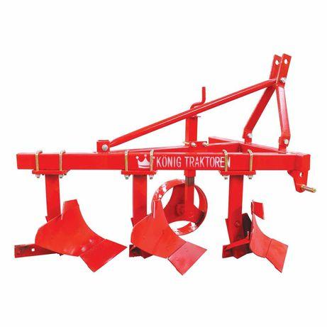 Plug agricol 3 trupite 25-35 CP latime 600mm adancime 200-250mm 100Kg