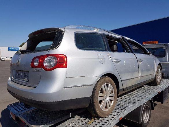 VW Passat 6 2.0TDI Common Rail DSG 90хил.км КАТО НОВ Фолксваген Пасат