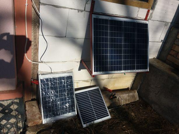 Panou solar pentru gard electric
