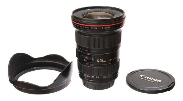 Canon 16-35 f 2.8 II версия