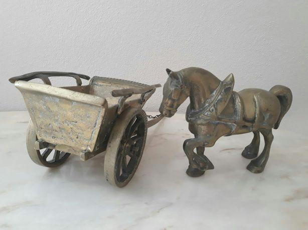 Cal cu sareta/trasura bronz/6kg/47cm