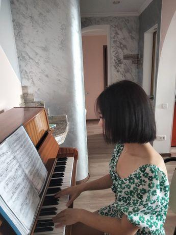 Уроки фортепиано, вокала,скрипки