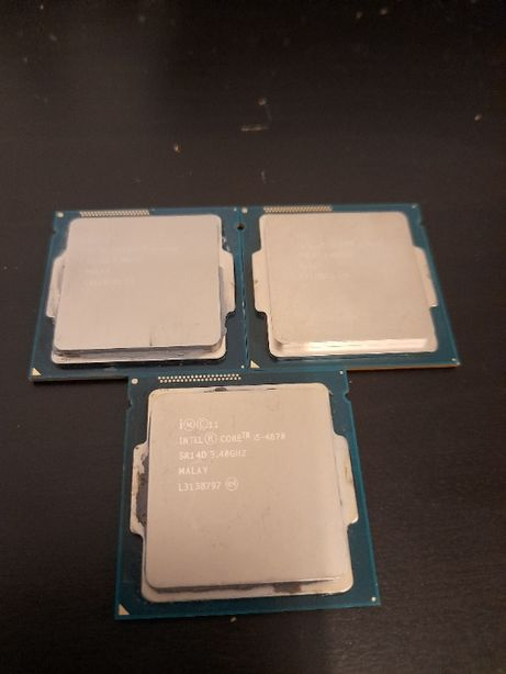 Procesor Intel Haswell, Core i5 4670 3.4GHz tray, fara cooler