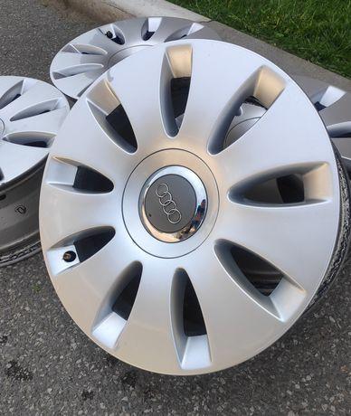 """Оригинални алуминиеви джанти за Audi/Ауди 16"""" A4 A6 Passat Superb"""