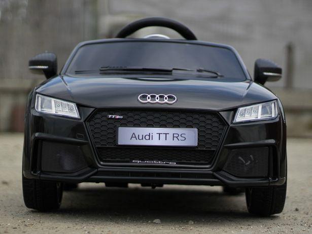 Masinuta electrica pentru copii Audi TT RS 2x 25W 12V NOUA #Negru
