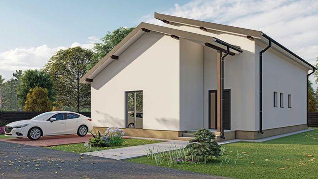 Case individuale 4 camere toate utilitatile Brasov Sanpetru 105000 eur