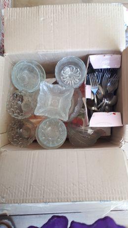 Посуды разные  стекляные