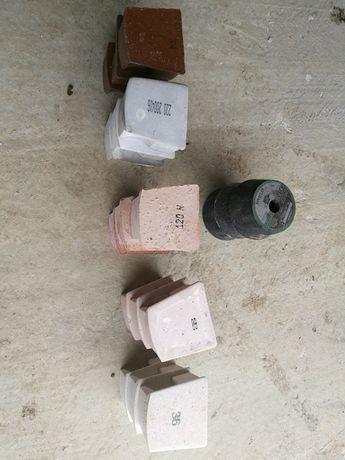 Set pietre slefuit beton + degrosare