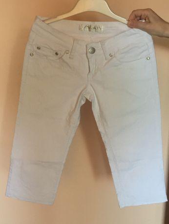 Дамски бял панталон - чисто нов
