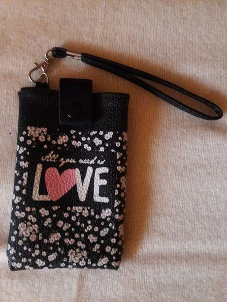 Husa de telefon/borseta All you need is love