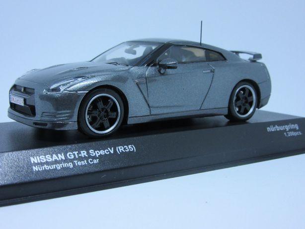 Macheta Nissan GTR SpecV Nurburgring Kyosho 1:43