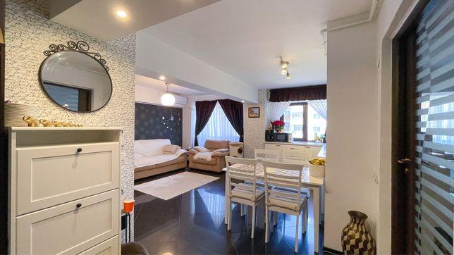 Apartament 3 camere mobilat si utilat.