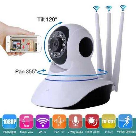 WiFi IP Камера видеонаблюдения SMART HD Q5 3 антенны, датчик движения