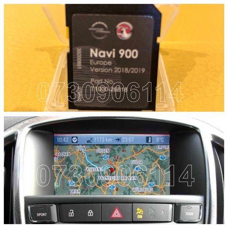 Card Opel INSIGNIA ASTRA J Zafira NAVI 900 600 Harta 2020 Navigatie