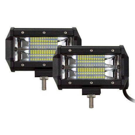 """7D Мощни LED халогени правоъгълни 5"""" 72W (led bar)"""