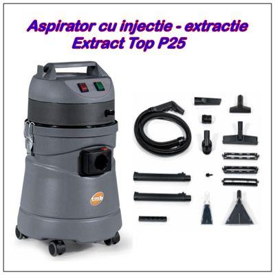Aspirator cu injectie-extractie covoare si tapiterii Extract Top P25