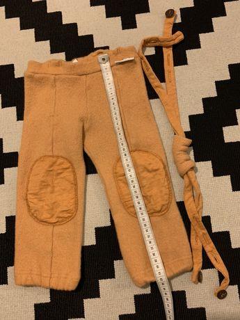 Pantaloni Manymonths lana merino,  masura 80-92