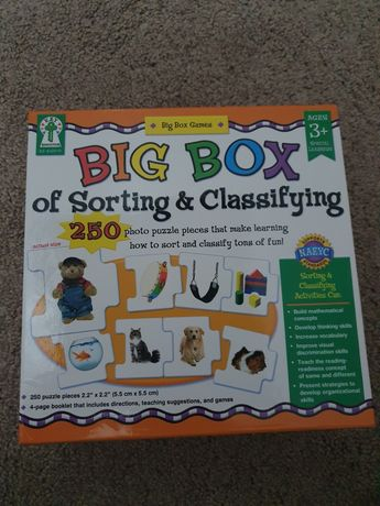 Vand Big Box of Sorting and Classifying