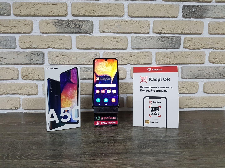 Смартфон Samsung A50 4/64GB Рассрочка KASPI RED!Гарантия!