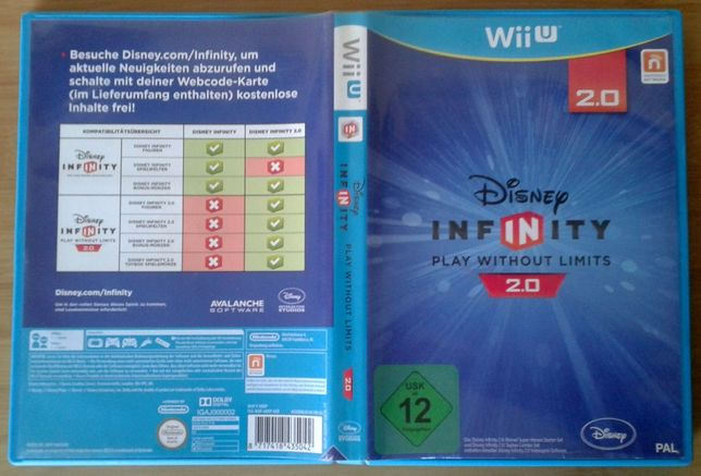 Joc Disney Infinity 2.0 Play without limits Wii U (WUP-P-ADRP-EUR-0)
