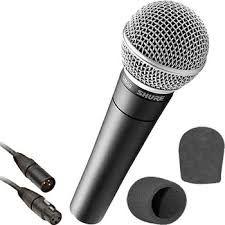 Microfon vocal SM 58 Cardioid