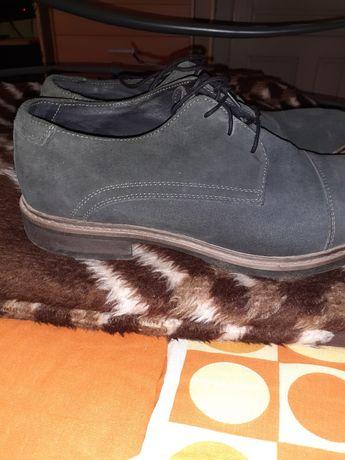 Pantofi piele întoarsă 44