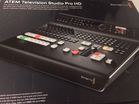 Blackmagic Mixer video HD