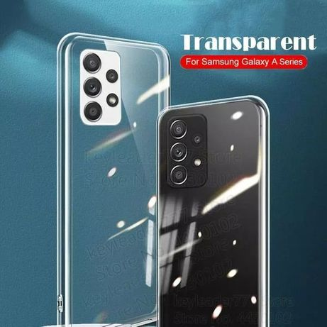 Плътен силиконов кейс гръб Samsung Galaxy A72 A52 A32 A12 A02s 4G 5G