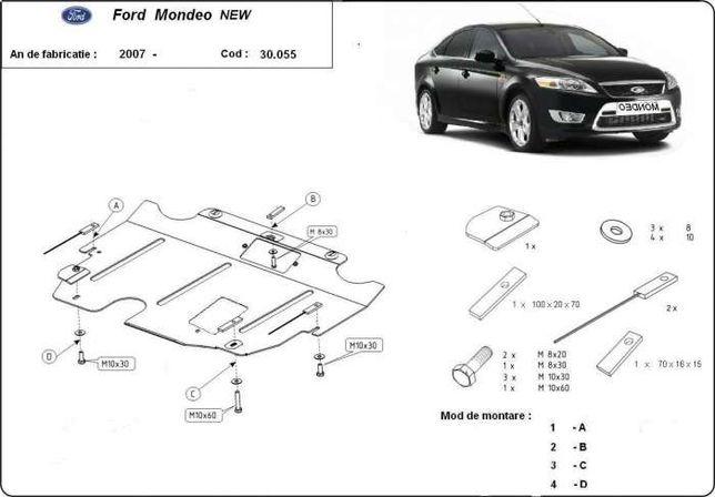 Scut metalic pentru motor Ford Mondeo 2007-2015 - otel 2mm