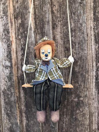 Ретро кукла Порцеланов Клоун