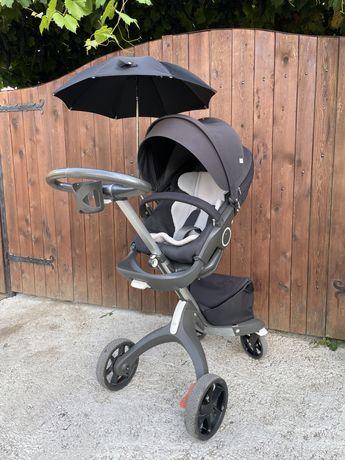 Бебешка количка Stokke V5 пълен комплект