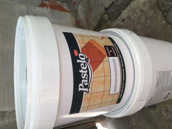 Бетон контакт грунд pastelo 25 кг.