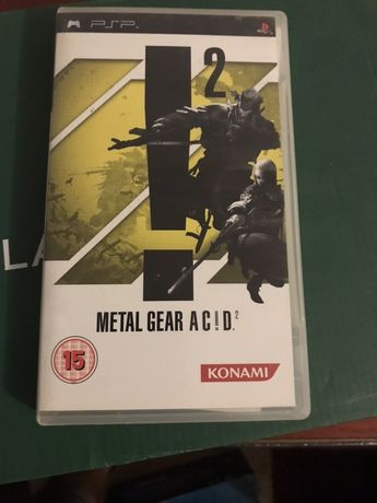 Metal Gear AC!D Original PSP