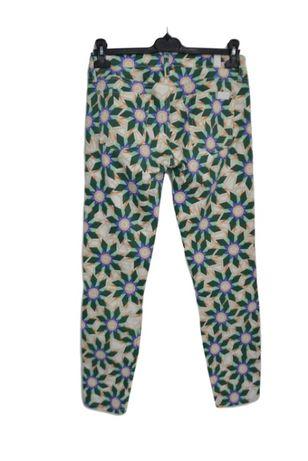 Blugi dama 7 For All Mankind capri floral marimea 27 W28 L28 cc3