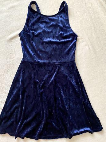 Rochie albastra H&M DIVIDED