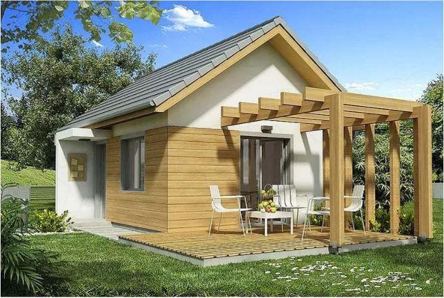 Kit casă lemn 34 mp
