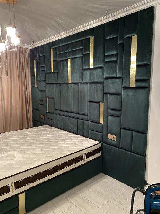 Pat tapitat , dormitor , 140x200; 160x200; 180x200; 200x200 Oradea - imagine 1