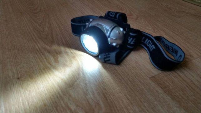 Lanterna de cap cu leduri