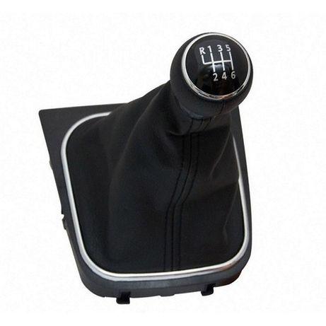 Топка скорости с маншон и основа за VW Golf Голф 5, с 6 скорости.