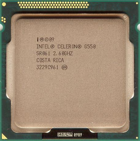 Intel Celeron G550/ 2.60GHz/ 2M/ ядер: 2C/2Th 65W/ LGA1155/ Sandy Brid