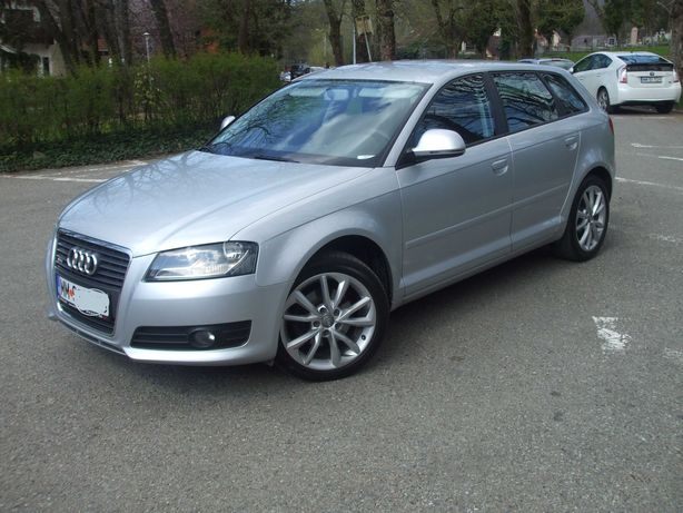 Audi*A3*2.0 TDI*140cp*Sportback*DPF*Euro5-Park Sensor-SHZ*Impecabil