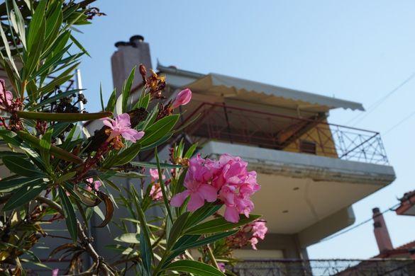 Апартамент Стефани пред плажа, 2 спални, 5 човека, Керамоти, Гърция