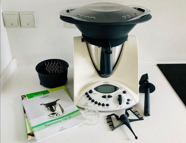 Vorkerk Thermomix TM31 TM 31 robot de bucătărie cu varoma si accesorii