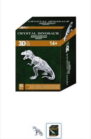 Dinozaur puzzle cristal