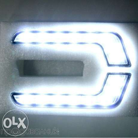 Дневни светлини Led 12v 6000k E4 Mark Модел Мерцедес модел 007