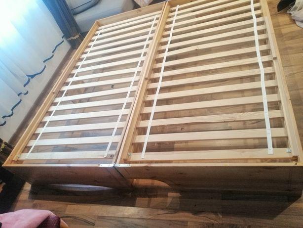 Vând pat din lemn masiv. Se face și canapea