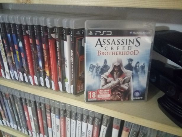 ps3 assasin creed brotherhood original+multe alte jocuri pe stoc