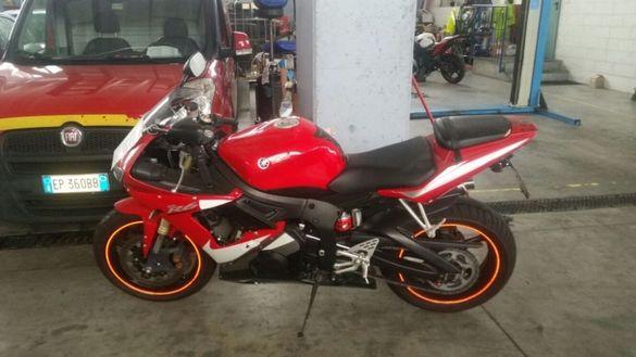 мотоциклет ямаха Р6(Yamaha YZF-R6) -На части
