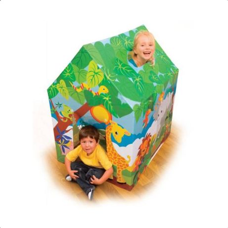 Casuta de joaca pentru copii Intex,cadru metalic